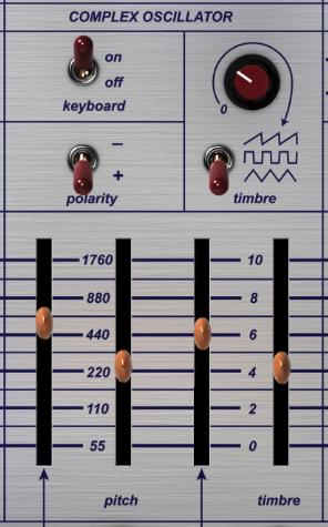 Easel Complex Oscillator